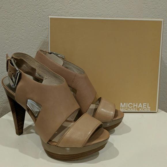 ec1b207921ce MICHAEL Michael Kors Shoes | Michael Kors Carla Platform | Poshmark